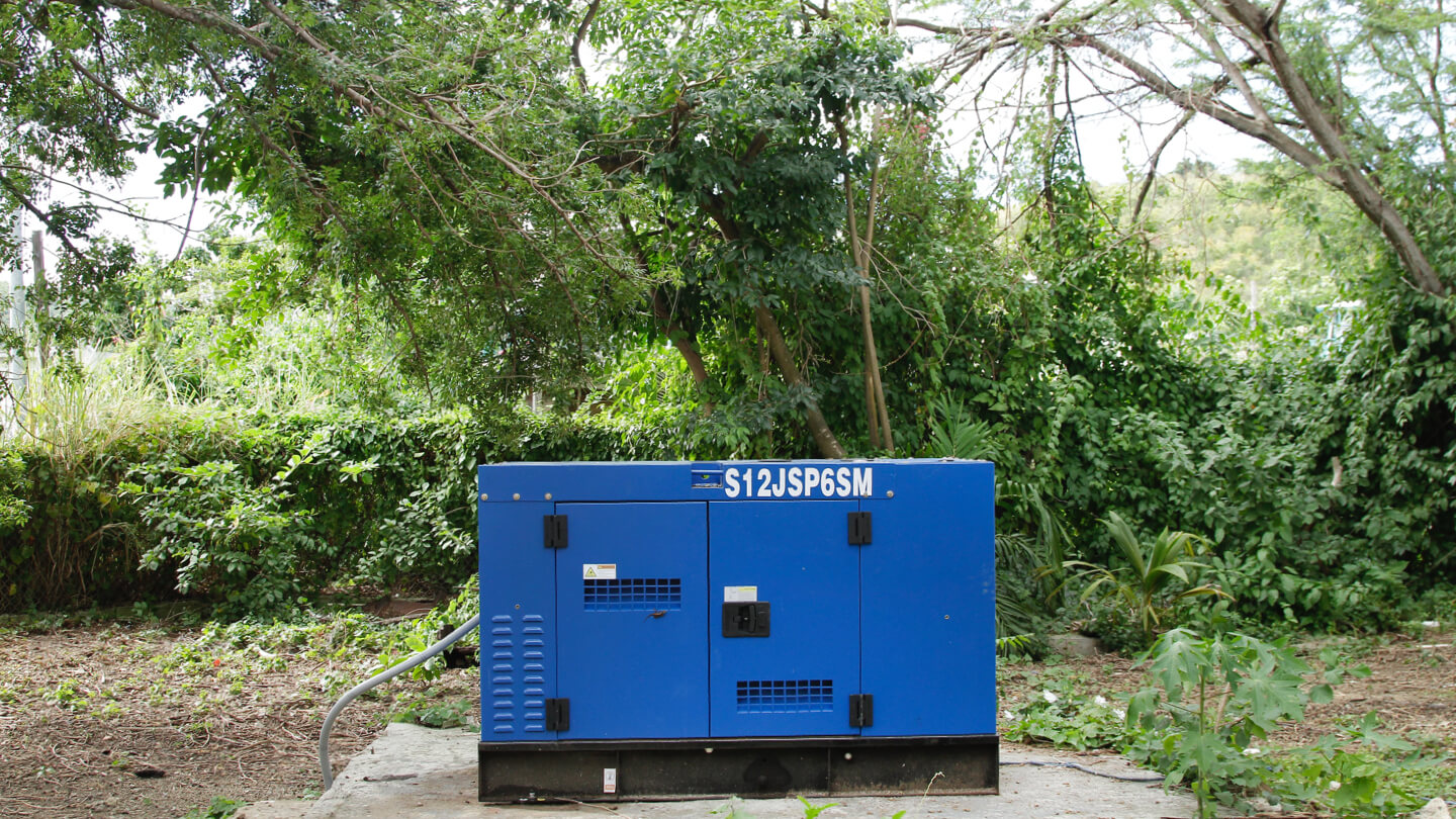 Two generators for Abbie School and the Education Association